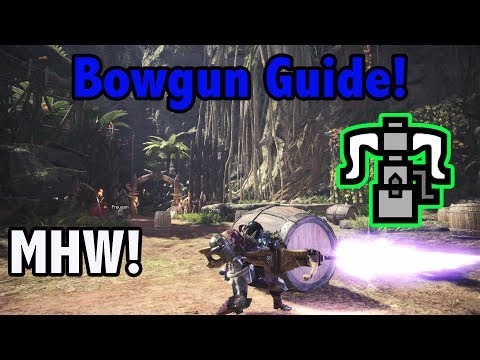 """How to Use the Heavy Bowgun in """"Monster Hunter: World""""   LevelSkip"""
