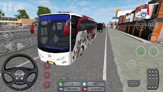 Bus Simulator Indonesia #1 CRAZY DRIVER - New Bus Game Simulator Android gameplay #busgames