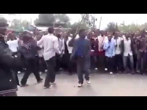 በጐንደር Protests in Ethiopia's Gonder City