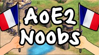 AoE2 Noob Match! French Showdown feat. Dave!