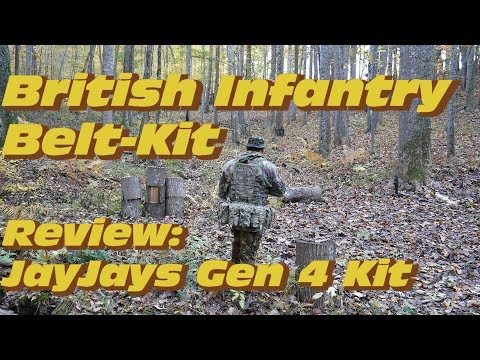 British Infantry Belt Kit: Review JayJays Gen 4 Web Gear