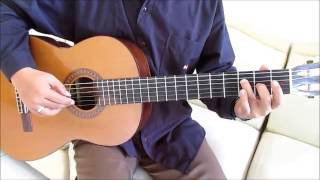"Happy Birthday Guitar Lesson ""Fingerstyle Guitar"" in C Major - Easy Guitar Tutorial For Beginners"