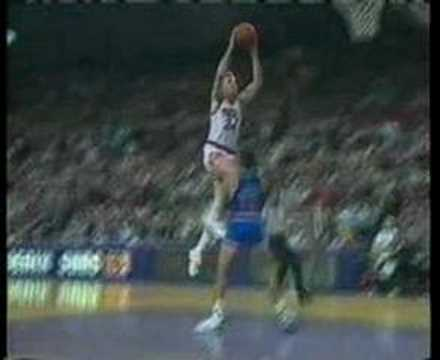 Tom Chambers legendary dunk