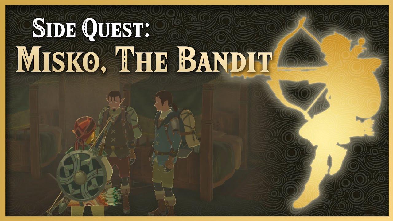 Misko The Great Bandit Zelda >> Misko The Great Bandit The Legend Of Zelda Breath Of The Wild