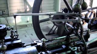 横形単気筒蒸気機関(官営富岡製糸場)ブリューナ・エンジン