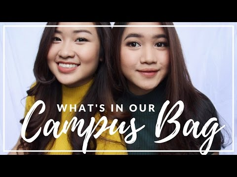 WHAT'S IN OUR CAMPUS BAG (Bahasa Indonesia)   Zora & Jessica