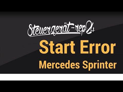 Start Error Mercedes Sprinter / Vito