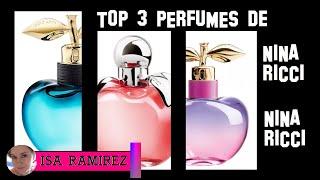 Top 3 perfumes de Nina Ricci