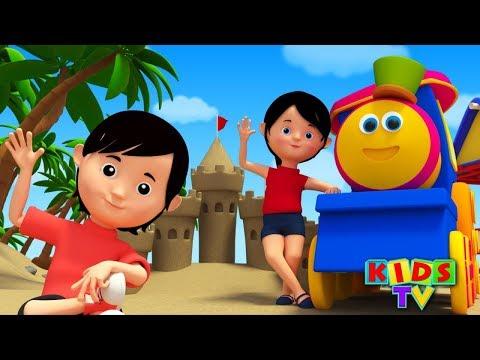Head Shoulders Knees And Toes   Nursery Rhymes With Bob   Kids TV   Bob The Train