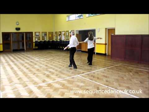 Sally Ann Cha Cha Sequence dance to music