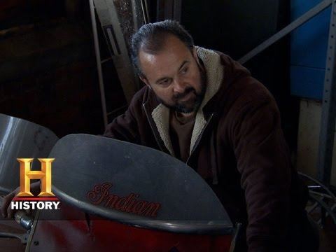 American Pickers: Frank Negotiates For An Indian Motorcycle | History