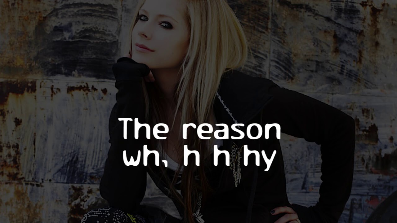 Avril Lavigne - Smile (Lyrics)