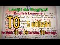 Download Lectii Engleza Video - TO - 5 Uses (5 Utilizari ale lui TO) - English Video Lessons