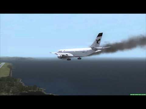IRAN AIR A300 Emergency Landing Guantanamo Bay