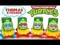 Thomas and Friends Minis Teenage Mutant Ninja Turtles Tank Engines Railway