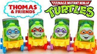 Really cool new Teenage Mutant Ninja Turtles Thomas Minis! There is...