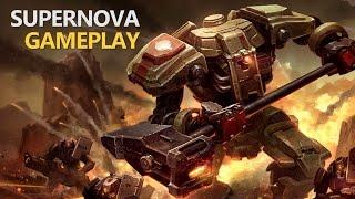 Supernova - A Strategy MOBA Game (Gameplay)