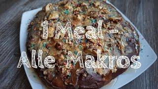 Eine Mahlzeit - Alle Makros I IIFYM I Intermittent Fasting