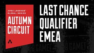 Apex Legends Global Series Autumn Circuit Last Chance Qualifier - Europe