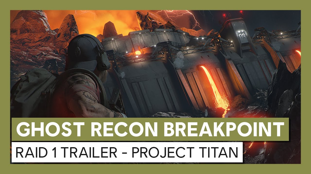 Ghost Recon Breakpoint : Trailer Raid 1 - Projet Titan Launch Trailer | Ubisoft