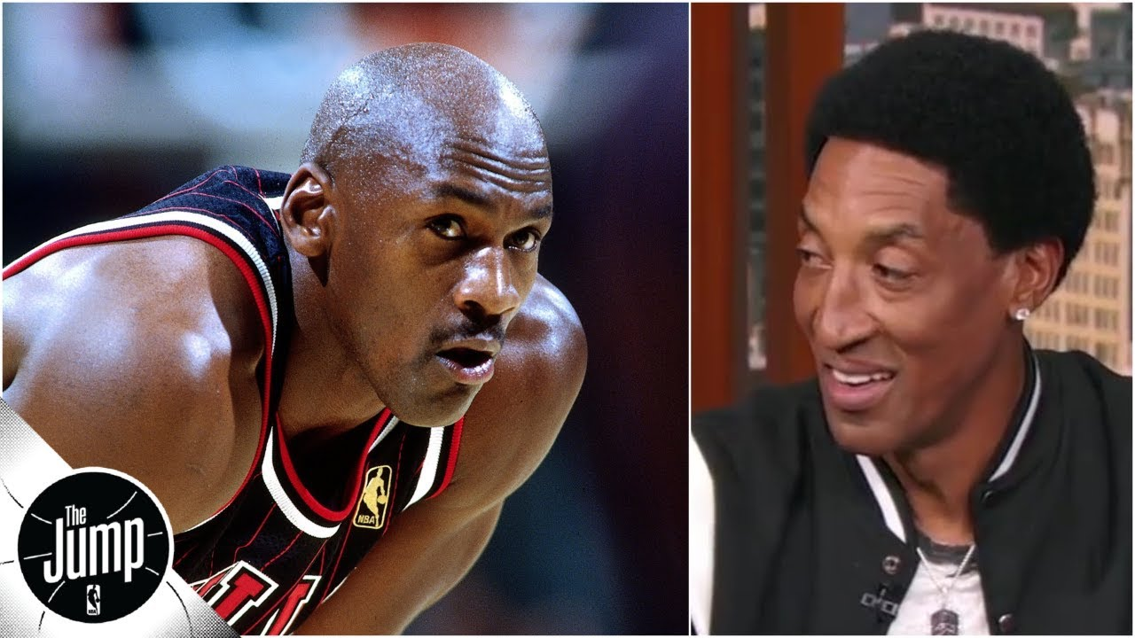 41516629836 Scottie Pippen: There is no game where I would pick LeBron over Michael  Jordan | The Jump
