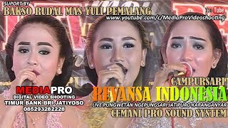 Video FULL ALBUM REVANSA Campursari Indonesia Cemani Sound System Full Live Ngepungsari Jatipuro download MP3, 3GP, MP4, WEBM, AVI, FLV April 2018