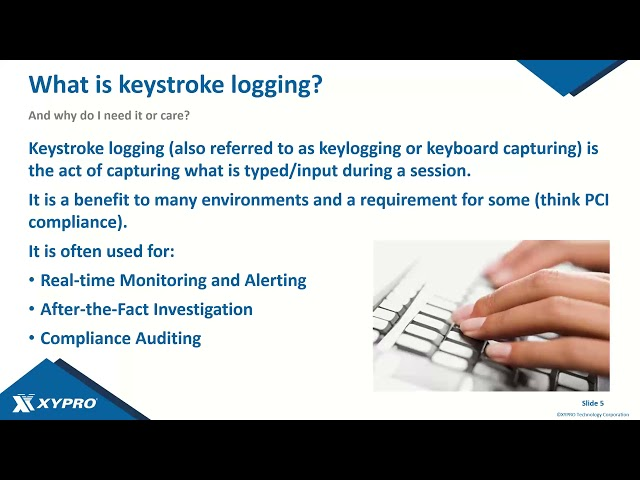 KeyStroke Logging for HPE NonStop Servers