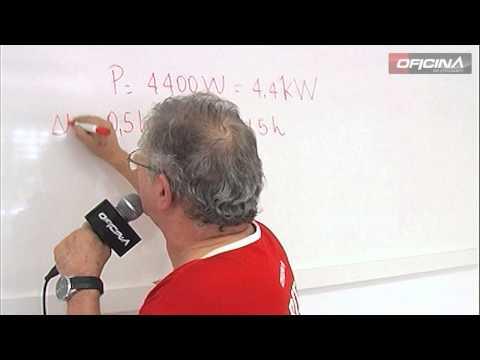 Como resolver problemas de kilowatt hora (KWh)