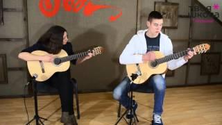 Обучение гитаре - Ляпис Трубецкой « Ау»