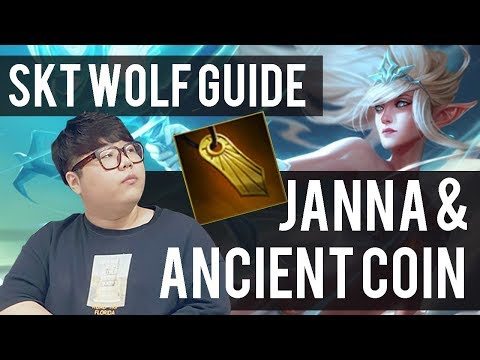 SKT WOLF GUIDE JANNA & ANCIENT COIN HOW IT WORKS!