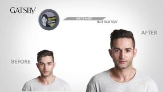 Gatsby Hair Styling Wax - Mat & Hard