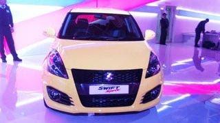 Suzuki Swift Sport Unveiled In India At Delhi Auto Expo 2014 !