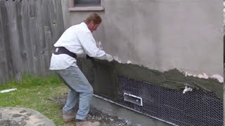 How to use Plastering or Stucco Trowels and tools of the trade