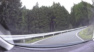 国道429号、志引峠-兵庫県道556号後山上石井線、奥海乢  車載動画