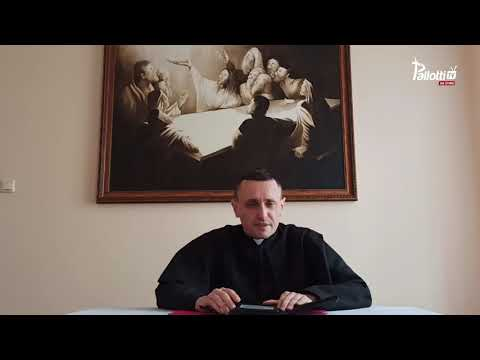 Pallotyński komentarz // Ks. Michał Kiersnowski SAC // 29.03.2021 //