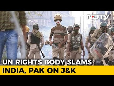 """India Rejects UN Report On Human Rights Violation In Kashmir, Calls It """"Fallacious"""""""