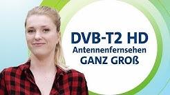DVB-T2 HD: Kleine Antenne großes Fernsehen?!