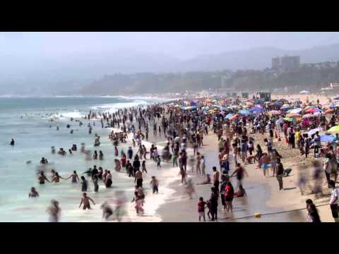 Santa Monica Beach | Time Lapse Video