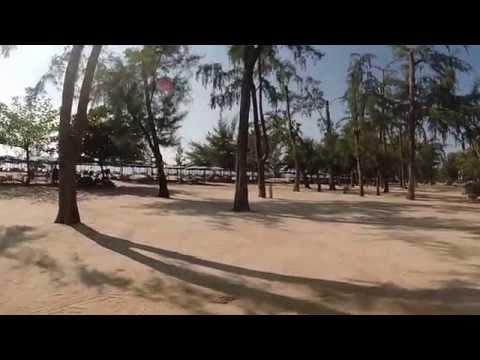 Cha Am beach. Thailand.