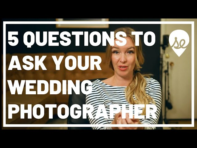 5 Questions to Ask Your Wedding Photographer (Before Hiring Them)