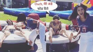 Sunny Leone Full on Masti with her Sleeping Husband at House Garden | Daniel Weber shocked