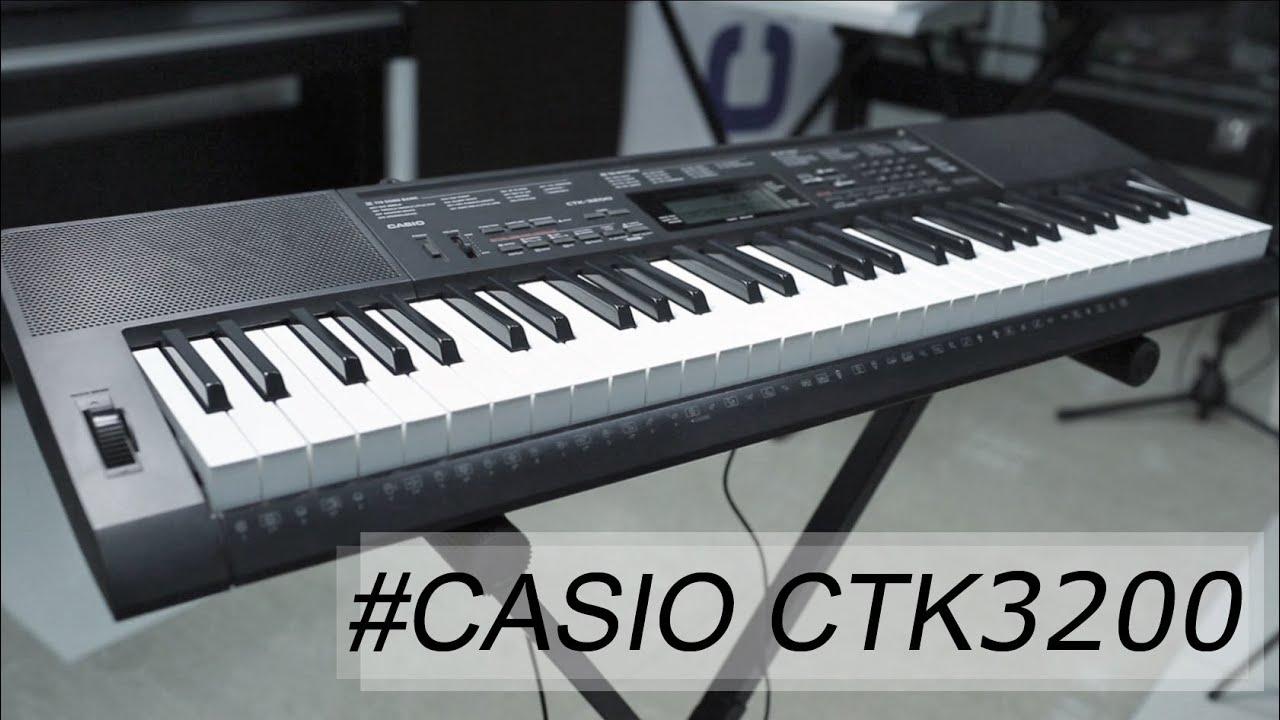 инструкция к синтезатору касио стк