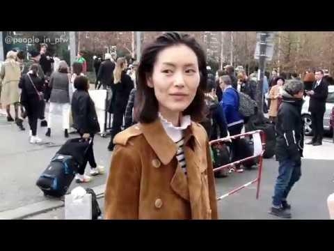 Liu Wen 刘雯 - Chloé fashion show - 28.02.2019