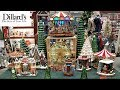 DILLARD'S BEAUTIFUL CHRISTMAS DECOR SHOP WITH ME 2018