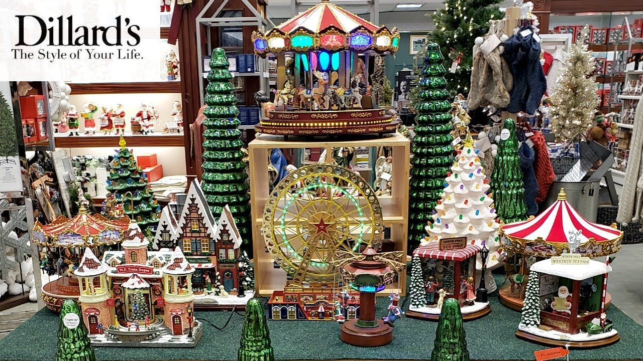 dillards christmasdecor shopwithme