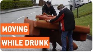 Two Irish Men Attempt to Move a Sofa   Pivot!