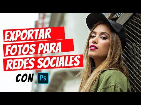 Cómo exportar tus fotos para redes sociales 2019