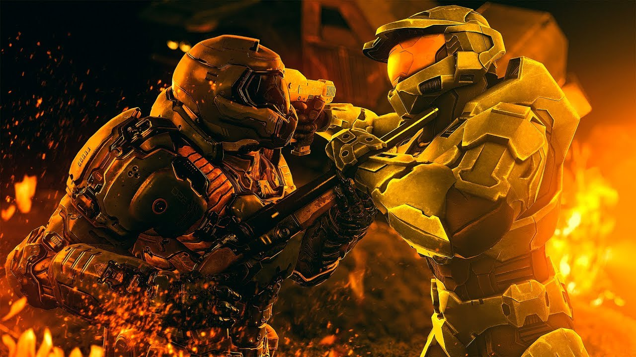 Master Chief Vs Doom Guy Which Iconic Super Soldier Would Win