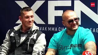 Na brutální zápasy zve Buchinger, Vémola, Kovacs… XFN představilo galavečer hrdinů bojových sportů