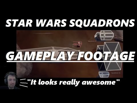 STAR WARS SQUADRONS GAMEPLAY – IT REALLY LOOKS AWESOME